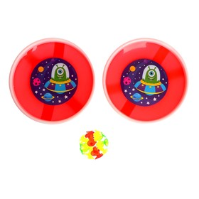 "Game-Velcro ""Monster"",MIXED set: 2 plates 18 cm, bead"