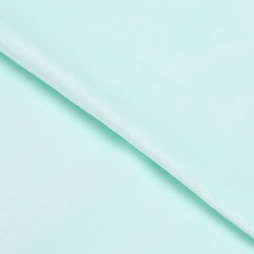 Ткань для пэчворка плюш «Мята», 55 × 50 см