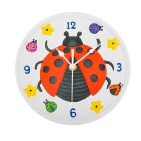Роспись по гипсу, серия создай часы «Божья коровка», краски 8 цветов по 2 мл