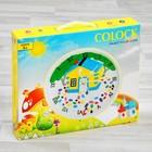 Роспись по гипсу, серия создай часы «Домик», краски 8 цветов по 2 мл - фото 105592099