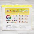 Роспись по гипсу, серия создай часы «Домик», краски 8 цветов по 2 мл - фото 105592101