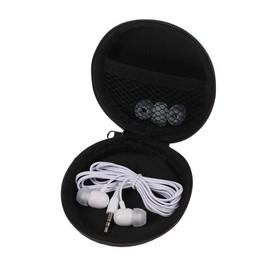 Case for headphones round 8x8x3 cm