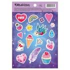 "Sticker paper ""Magic world"", 11 x 16 cm"