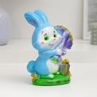 """Копилка """"Кролик с букетом роз"""""""
