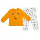 Пижама детская, рост 86 см, цвет жёлтый/белый FRN72103_М