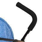 Коляска-трость, цвет голубой - фото 105548023