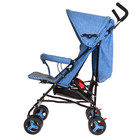 Коляска-трость, цвет голубой - фото 105548012