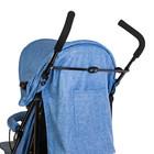 Коляска-трость, цвет голубой - фото 105548016