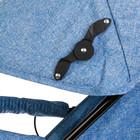 Коляска-трость, цвет голубой - фото 105548021