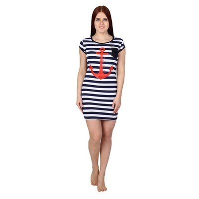 Платье женское Якорь цвет синяя полоса, р-р 42