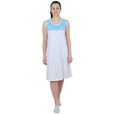 Сорочка женская Улыбка цвет МИКС, р-р 56