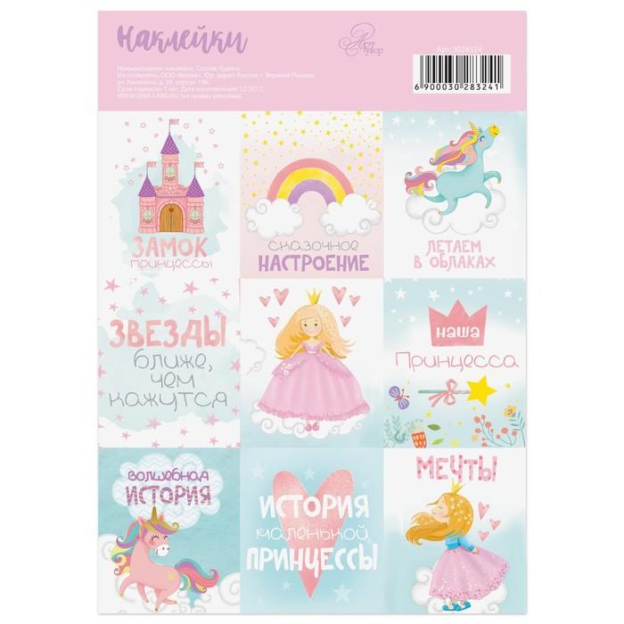 "Stickers ""Princess"", 11 × 16 cm"