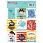 "Stickers ""Brave pirate"", 11 × 16 cm"