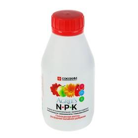 """Минеральные удобрения """"AGREE'S"""" NPK Универсальное удобрение 0,25л."""