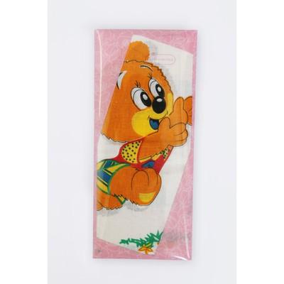 Платок носовой детский, 25 х 25 см, 2 шт, мультиколор, хлопок