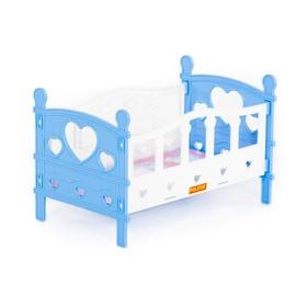 Кроватка для кукол сборная, 5 элементов, в пакете, МИКС