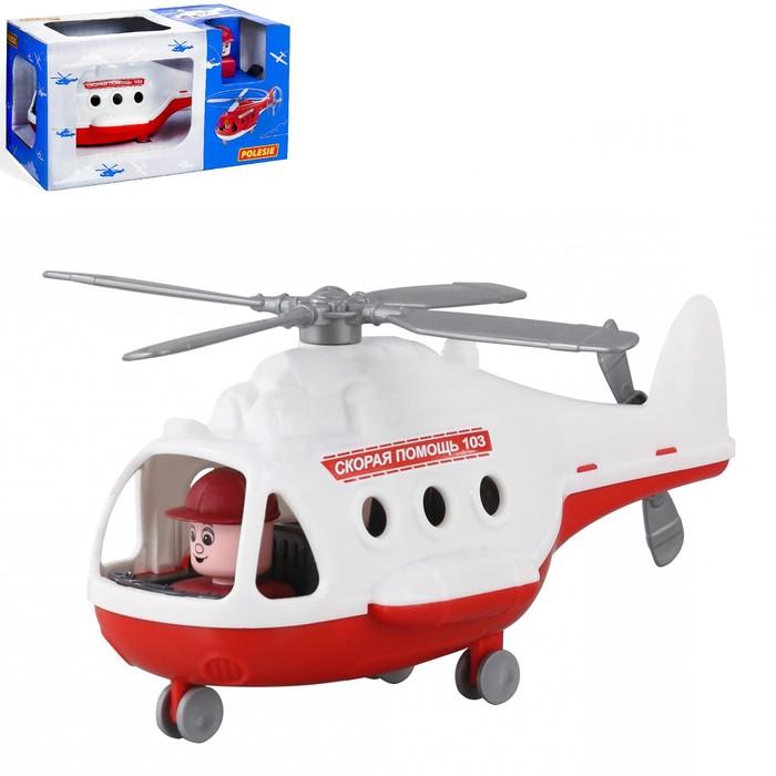 """Вертолёт - скорая помощь """"Альфа"""" (в коробке) 68668"""