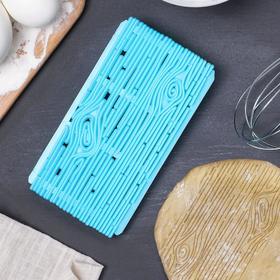 Печать для марципана и теста Доляна «Кора», 15×8 см