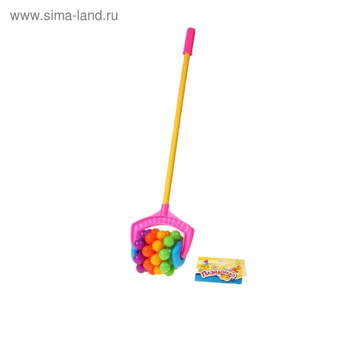 "Каталка ""Радуга"", длина ручки 41.5 см"