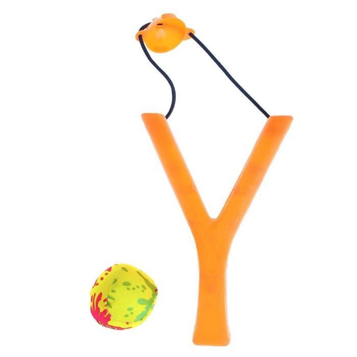 Рогатка и водная бомбочка, цвета МИКС