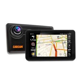 "Навигатор Carcam Каркам Атлас 2 + видеорегистратор сенсор 5"",1920х1080,120*Android,3G,GPS"