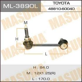 Stabilizer bar Masuma ML3890L