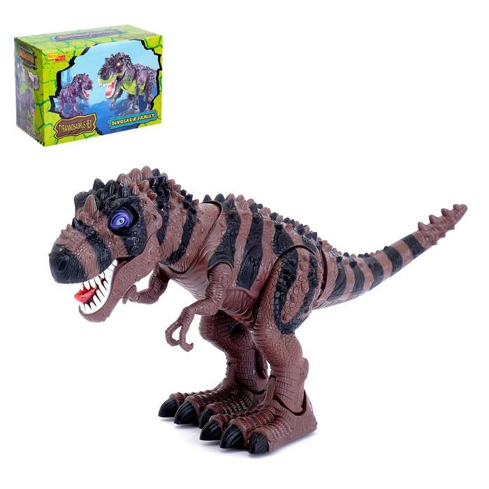 Животное «Динозавр», световые эффекты, МИКС