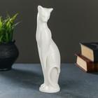 """Фигура """"Кошка Грация"""" белая, 6х7х23см - фото 8443058"""