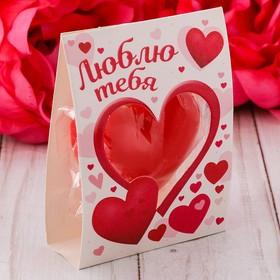 Свеча-сердце 'Люблю' 11 х 6,5 см Ош
