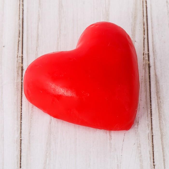 Свеча-сердце «Ты моё счастье» - фото 35610393