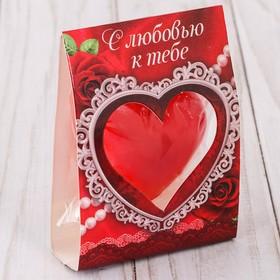 Свеча-сердце 'С любовью к тебе'11 х 6,5 см Ош