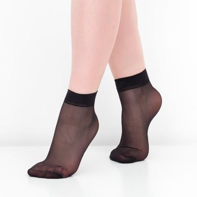 Набор носков женских (10 пар) 40 den цвет чёрный