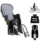 Велокресло заднее BQ-7-4 с регулировкой наклона, крепление на раму, цвет чернный