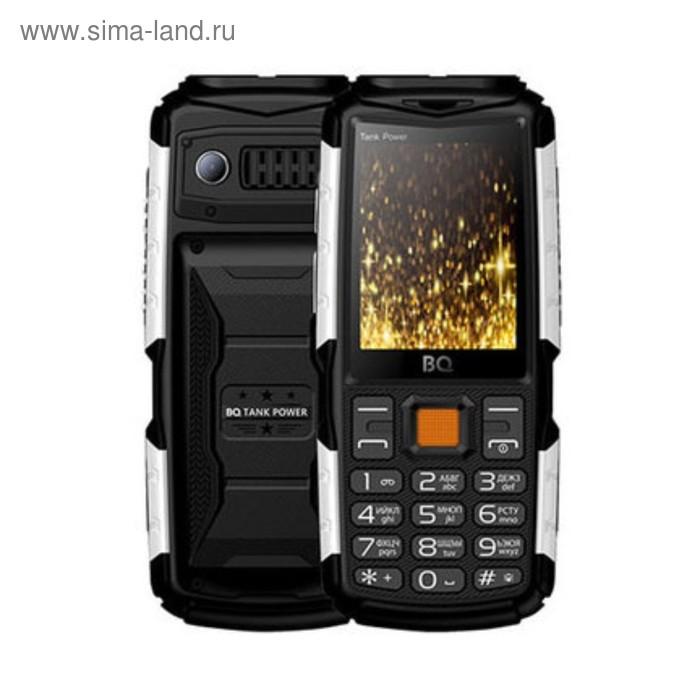 Сотовый телефон BQ M-2430 Tank Power Black Silver