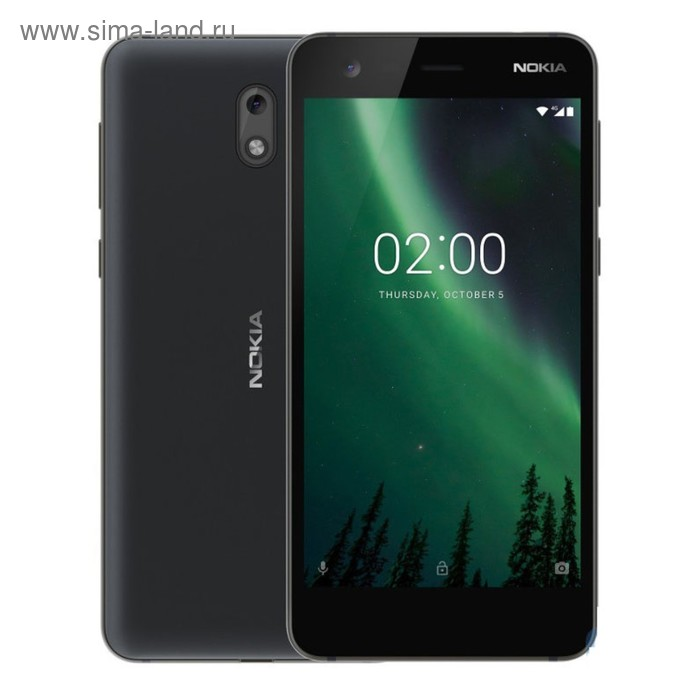 Смартфон Nokia 2 DS Black LTE TA-1029, цвет черный