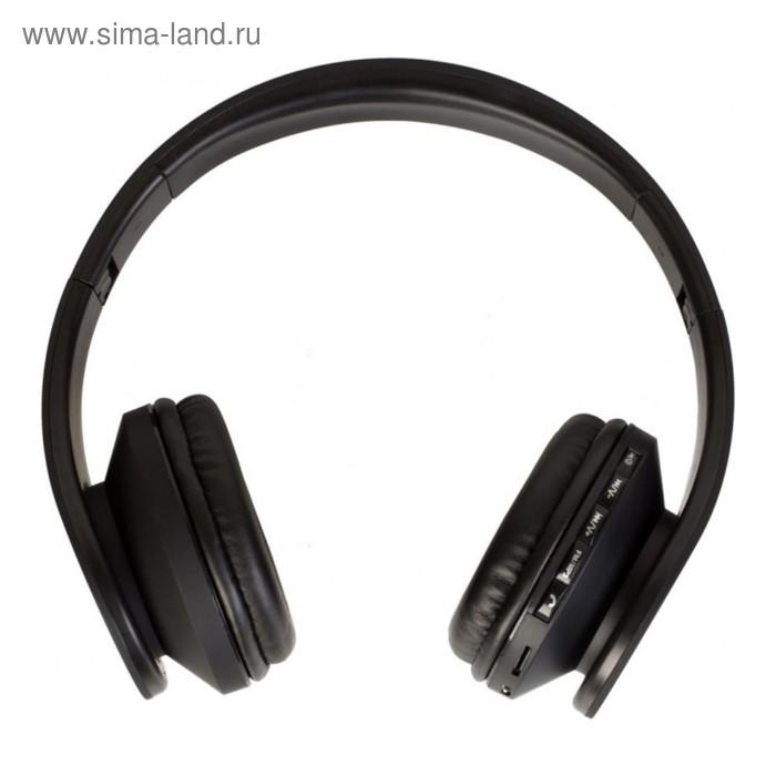 Гарнитура Denn DHB405 Bt, Bluetooth, накладная, черная