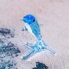 """Сувенир стекло микро """"Дельфин"""" 1,8х1,2х1,3 см"""