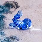 """Сувенир стекло микро """"Кит"""" 1,1х1,4х1,3 см"""