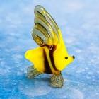 "Сувенир стекло микро ""Рыба барбус"" 2,6х1,1х2 см  МИКС"