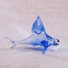 """Сувенир стекло микро """"Акула"""" 2х3,2х1,1 см"""
