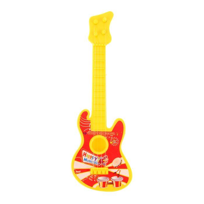 Музыкальная игрушка гитара «Весёлая музыка»