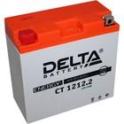 Аккумуляторная батарея Delta 14 А/ч - 6СТ АПЗ, Moto AGM, CT 1212.2, YT14B-BS,  прямая полярность   2