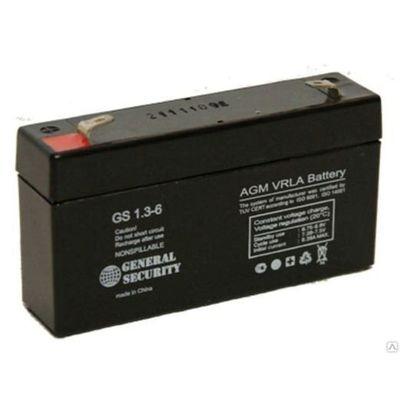 Батарея аккумуляторная General Security GS 1,3-6