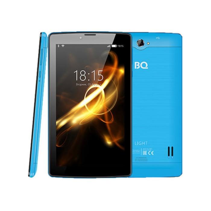 """Планшет BQ  7083G Light Blue 7"""", 1024*600, TN, 4*1.0Ghz, 1+8Гб, GPS, 7.0, светло-синий"""