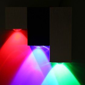 """Светильник 28044/3 """"Дельта"""" 3x1W LED 15x3x12 см"""