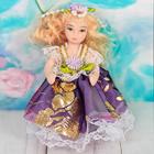 """Кукла коллекционная керамика """"Малышка-принцесса"""" 10,5 см МИКС"""