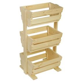 Этажерка деревянная, 54×50×100см