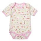 Боди для девочки короткий рукав, рост 62 см, цвет розовый 106-01-20/62_М