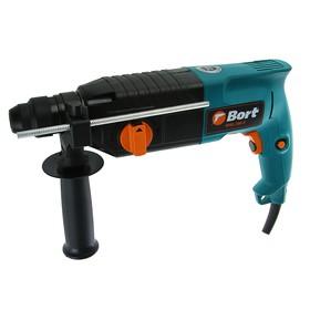 Перфоратор Bort BHD-700-P, 700 Вт, 4850 уд/мин, 3 Дж, 3 режима, реверс