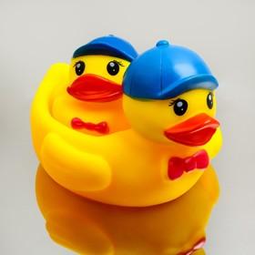 Набор для ванной «Милые утята»: мыльница, игрушка 1 шт.